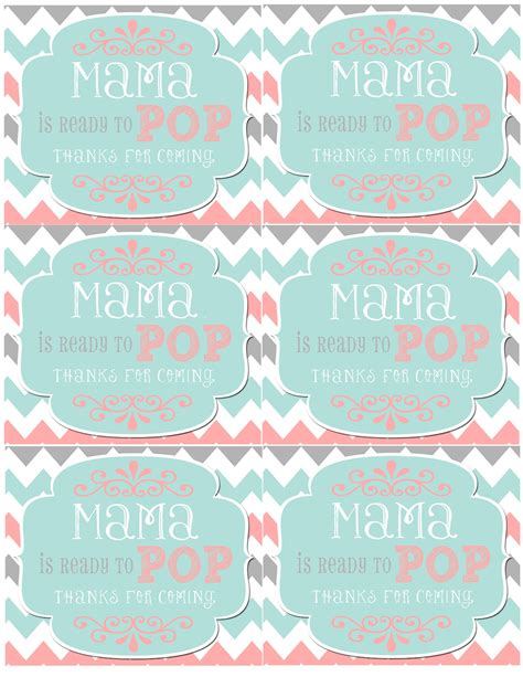 ready to pop template free mrs this and that baby shower banner free downloads