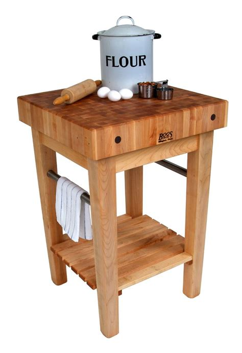 boos butcher block tables boos pro prep block maple butcher block stand or