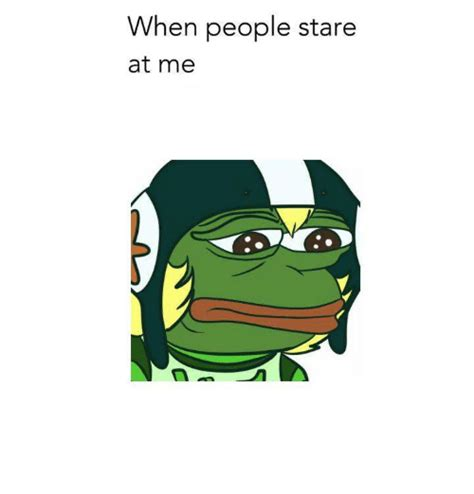 stares at me when stare at me dank meme on sizzle