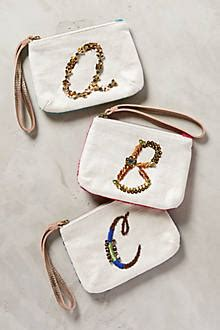 Anthropologies Desert Sun Wristlet Bag by Monogram Pouch