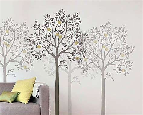 tree template for wall rustic decor on tree stencil tree wall