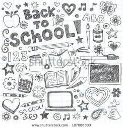 doodle school doodle stock photos images pictures
