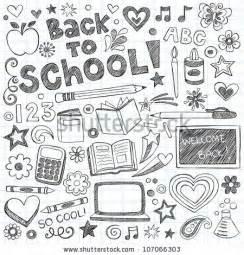 doodle ideas for school doodle stock photos images pictures