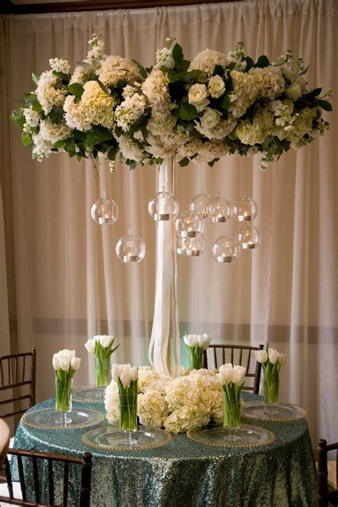 69 best WEDDINGS   Elevated Centerpieces images on
