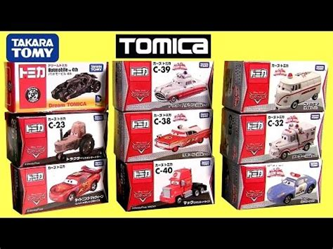 Tomica Cars C 23 Tractor Disney Pixar Diecast Miniatur Takara Tomy Ori トミカ カーズc 23 トラクターで遊びました i was with tomica cars