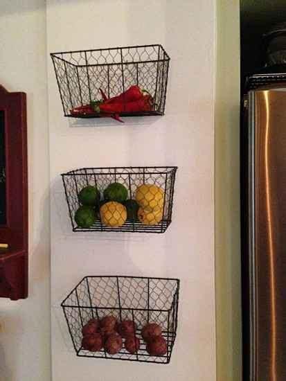 Creative Hanging Rack 3 Layer Rak Gantung Dapur Multifungsi 3 Susun 21 diy fruit and veggie storage ideas