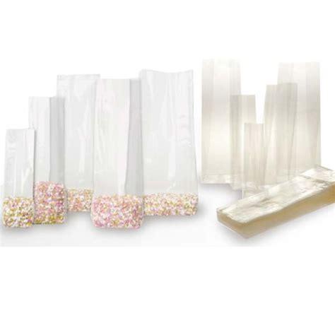 sacchetti trasparenti per alimenti buste sacchetti cellofan fondo quadro trasparenti per
