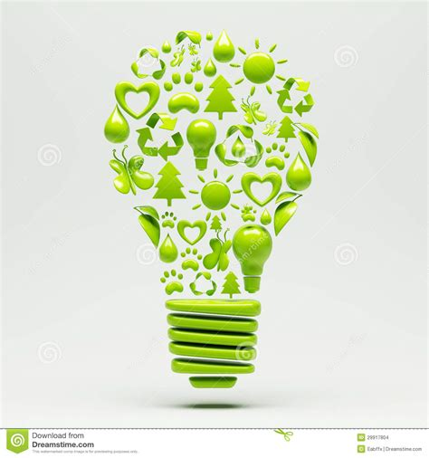 how to recycle lights recycle light bulb stock images image 29917804