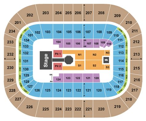 boardwalk seating chart luke bryan kip bryce center park tickets