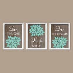 best turquoise bedroom decor products on wanelo teal brown home decor trees aqua turquoise wall art matted