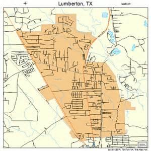 map of lumberton lumberton map 4845120