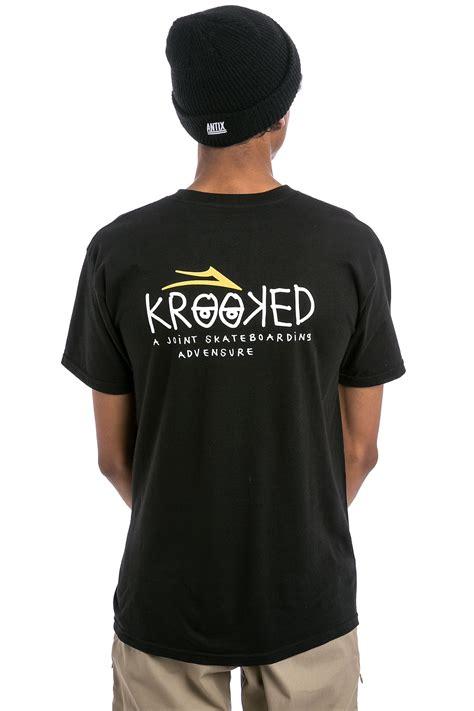 Tshirt Kaos Skate Lakai 1 lakai x krooked t shirt black kaufen bei skatedeluxe