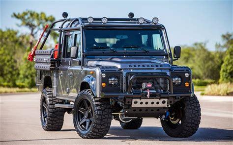land rover defender 2017 black descargar fondos de pantalla land rover defender suv