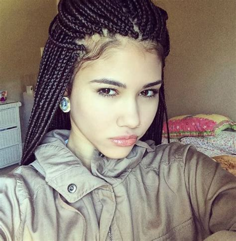 light skinned hair styles light skin with box braids hairstylegalleries com