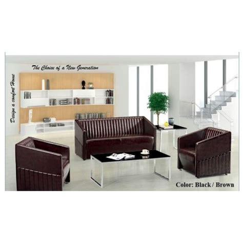 pvc leather sofa dubai budget sofa set ddd 004 black brown pvc leather 3 1 1
