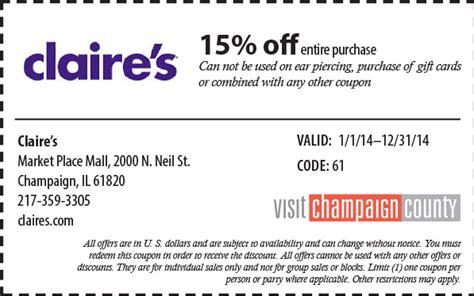 Claire S Gift Card Codes - promo code for claires fire it up grill