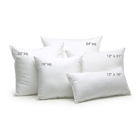What Size Is A Lumbar Pillow by Decorative Pillow Insert 12 Quot X16 Quot West Elm