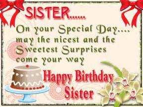 Sister birthday quotes amp wishes sayingimages com