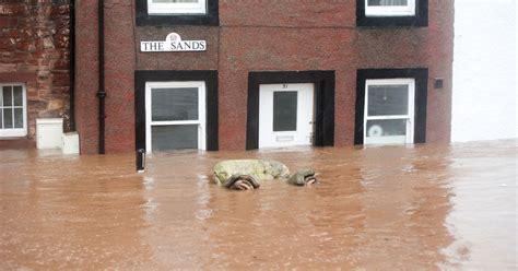 budget homes mud houses 6th december storm desmond floods terrifying footage shows violent