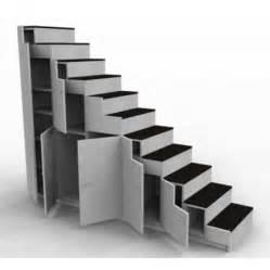 escalier pour lit mezzanine meuble escalier pour mezzanine avec rangements sur mesure