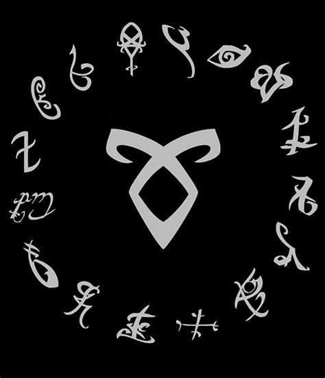 How To Hang Art On Wall by Quot All Runes Symbol Shadowhunters Quot Posters By