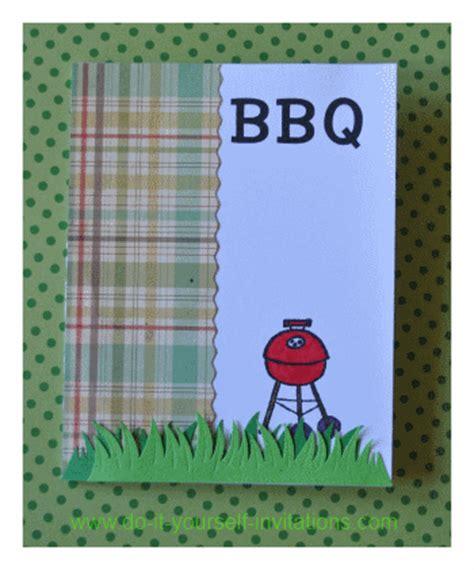 Diy Barbecue  Ee  Invitations Ee