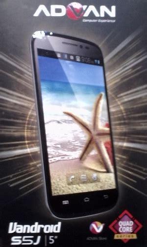 Tablet Advan J1 harga advan s5j 1 jutaan fitur dual sim dan bisa bbm an