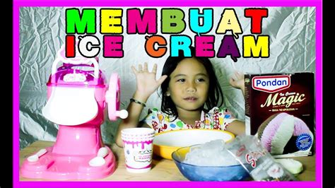 youtube membuat es krim mainan hello kitty ice cream maker mainan untuk membuat es krim