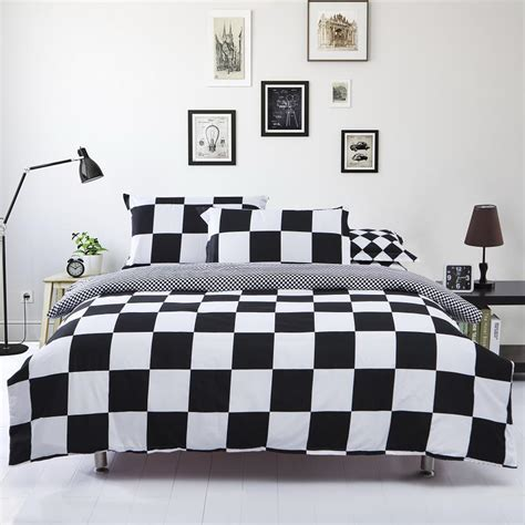 Duvet Sets Black And White Black And White Duvet Cover Set Bed Linen Clothes For Bed