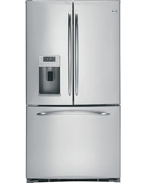 new door refrigerator ge refrigerators profile and cafe bottom freezer