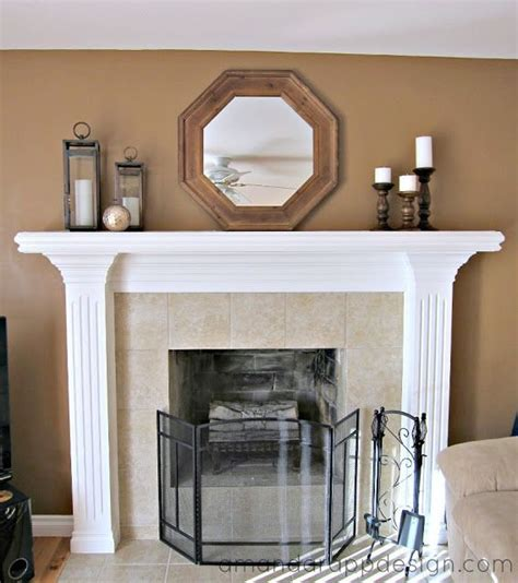 simple mantel decor mantel decorating simple classic