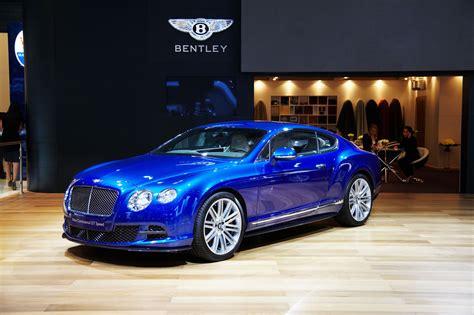 bentley blue color 2014 bentley continental gt speed front photo aegean