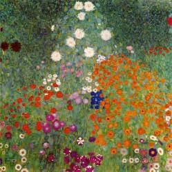 Gustav Klimt Flower Garden Flower Garden Gustav Klimt As Print Or Painted
