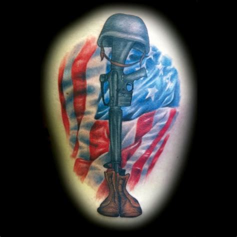 christian tattoo augusta ga fallen soldier tattoo by matt skin tattoos by matt