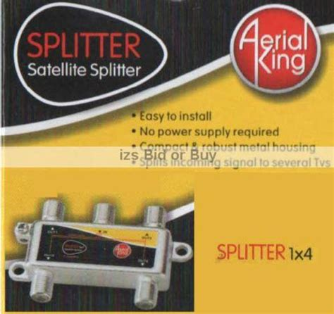 Splitter Tv Made Taiwan8 Way satellite tv splitters switches 4 way f splitter with