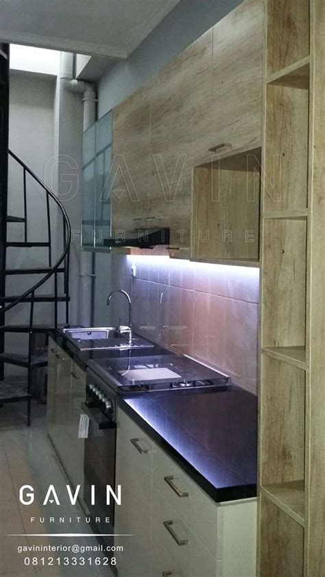Kitchen Set Multiplek Hpl jual kitchen set serat kayu kombinasi hpl di cempaka putih