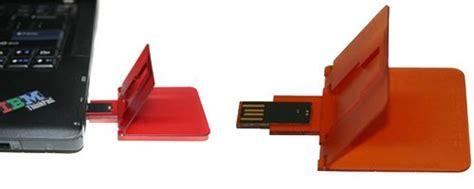 Freecom Usbcard Is Credit Card Like Slim by Slim Data Usb Flash Drive Is Credit Card Thin The Gadgeteer