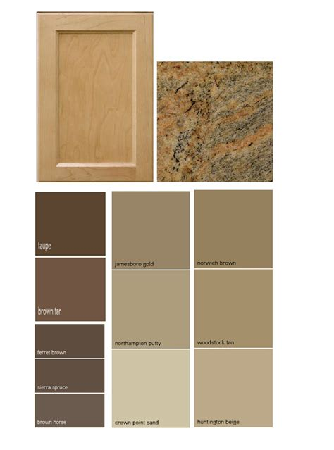 match a paint color to your cabinet and countertop paint