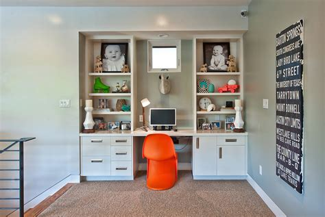wall unit desk home office contemporary with artwork built wall unit desk home office contemporary with artwork built