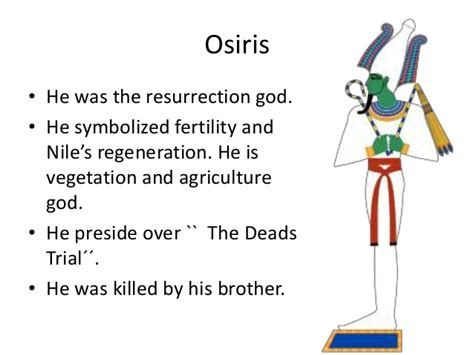 themes in god dies by the nile principal egyptian gods