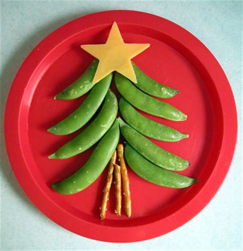 Apple Christmas Tree Ornaments - food art for kids healthy ideas for kids