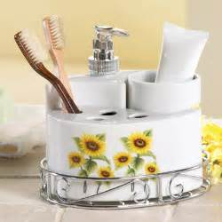 Sunflower Bathroom Set » Modern Home Design
