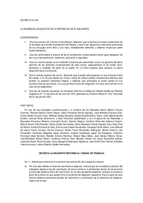 codigo de trabajo 2015 reforma al codigo del trabajo 2015 reforma 14 al codigo de