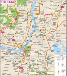 Kolkata India Map by Geography Blog Kolkata City Maps India