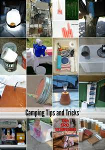 Tips And Tricks 20 camping tips and tricks the idea room