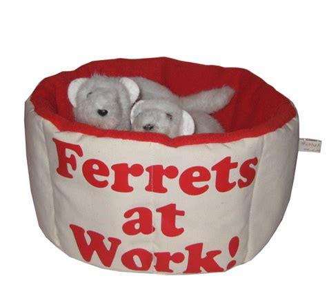 ferret bed ferrets at work snuggle bed