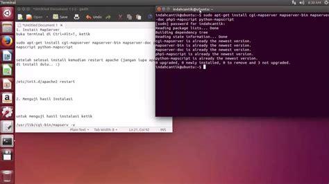 Tutorial Mapserver Ubuntu | install mapserver in ubuntu 14 04 lts youtube