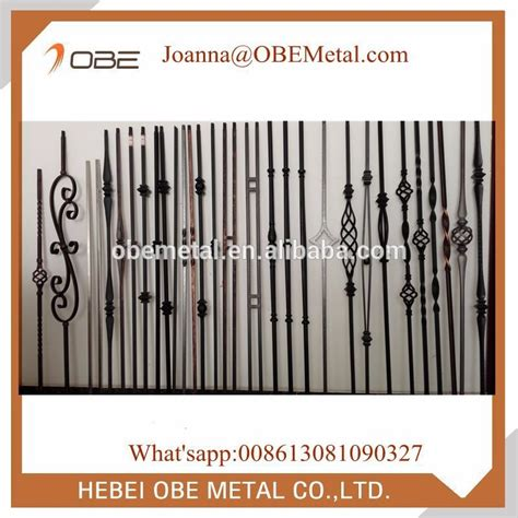 cheap indoor wrought iron balusters stair spindles