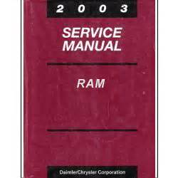 online auto repair manual 2003 dodge ram 1500 auto manual 2003 dodge ram 1500 2500 3500 truck factory service manual 2 volume set