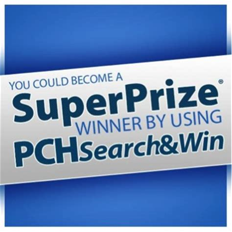 Pch Search Now - set for life superprize event is just around the corner pch search win blog